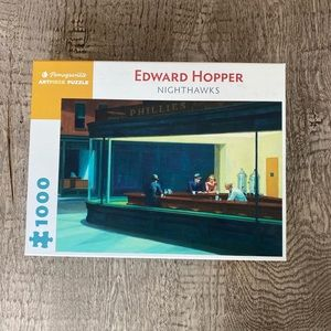 Other - Edward hopper Nighthawks Puzzle 1000pc